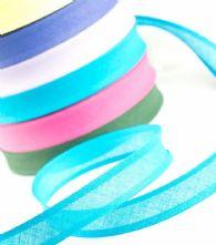 15mm Cotton Bias Binding in 11 colours